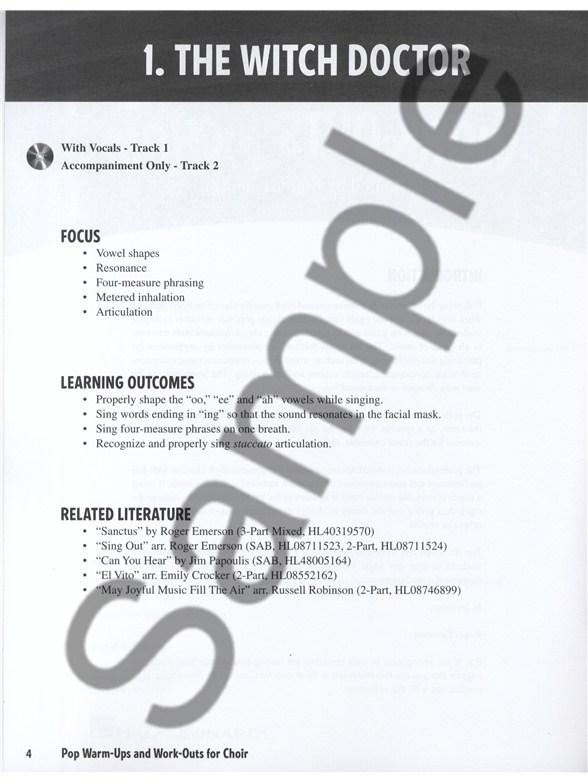 fun choir warm ups pdf