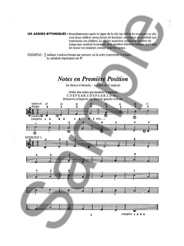 Méthode Moderne De Guitare: Volume 1 Guitare Livres Méthodes et Etudes musicroom fr