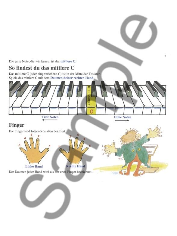 keyboard f r kinder book cd dvd poster keyboard books. Black Bedroom Furniture Sets. Home Design Ideas
