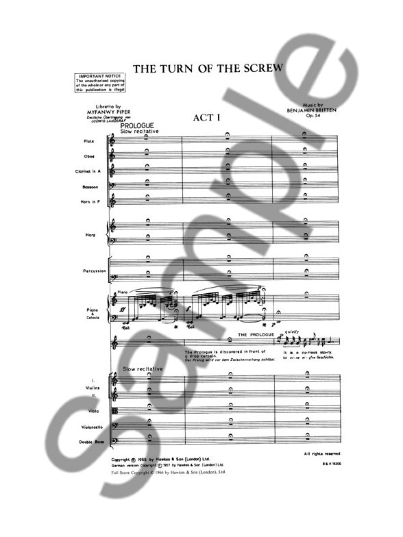 TURN OF THE SCREW SCORE PDF DOWNLOAD