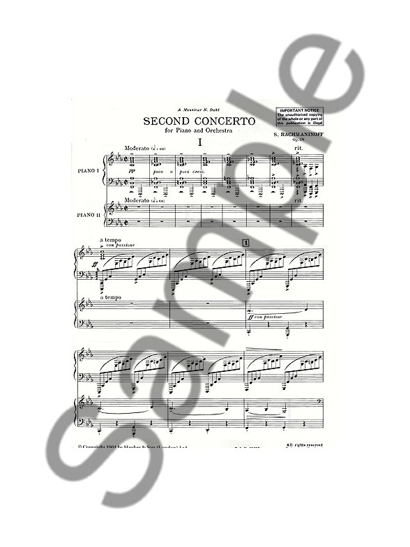 rachmaninoff piano concerto no 2 sheet music pdf