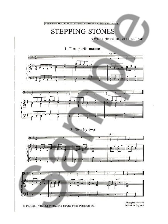 stepping stones  cello  piano