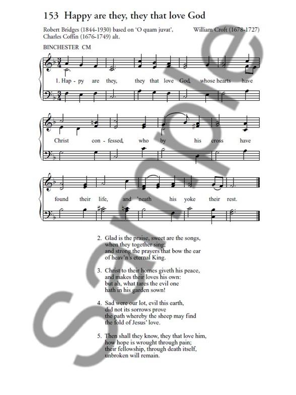 hymn piano sheet music pdf