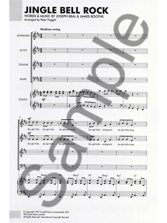 Bobby Helms Jingle Bell Rock Satbpiano Piano Accompaniment