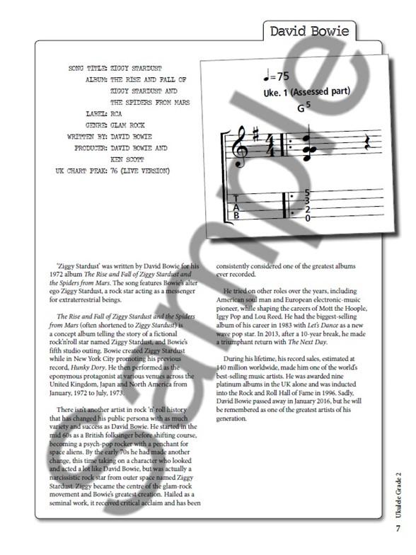Funky Ziggy Stardust Ukulele Chords Images - Song Chords Images ...