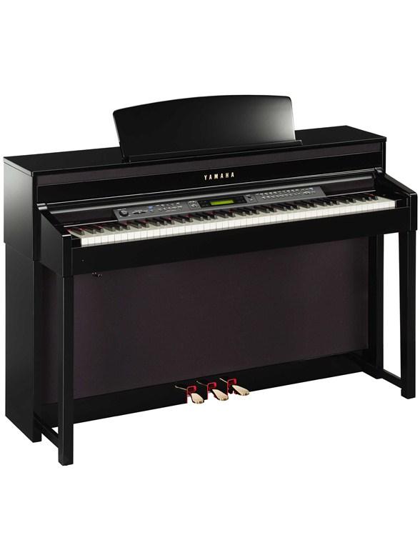 yamaha clp 480pe clavinova digital piano polished ebony