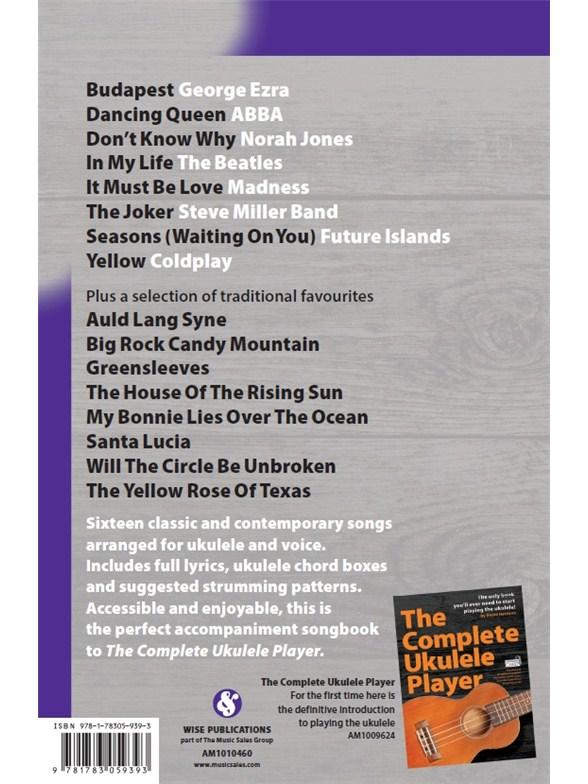 The Complete Ukulele Player Songbook 2 Ukulele Sheet Music Sheet