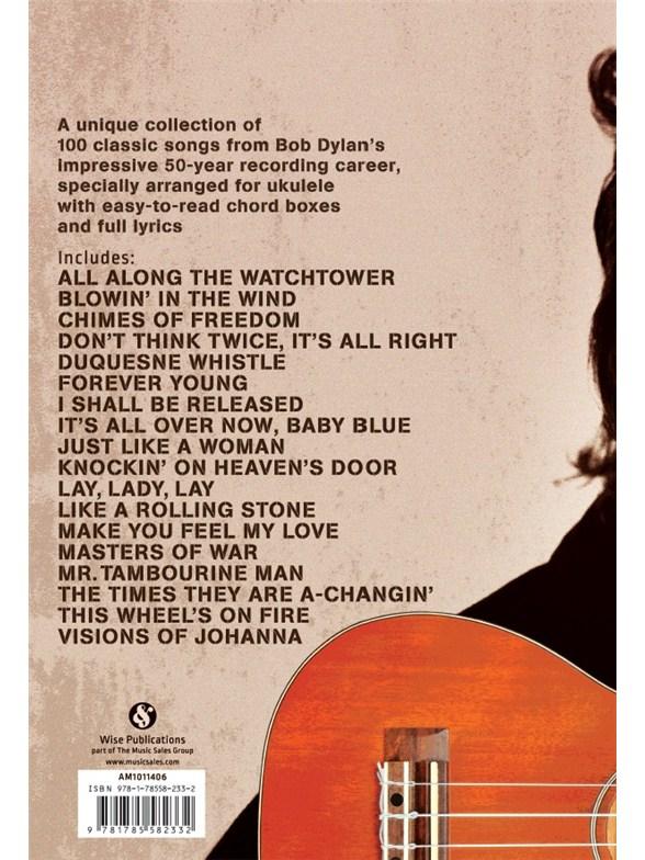 Bob Dylan Ukulele Chord Songbook Ukulele Sheet Music
