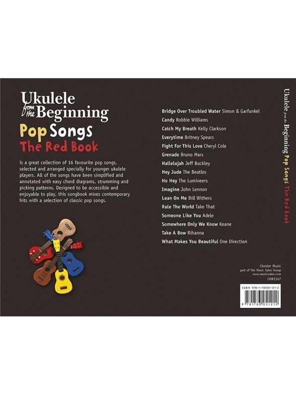 Ukulele From The Beginning Pop Songs Red Book Ukulele Sheet