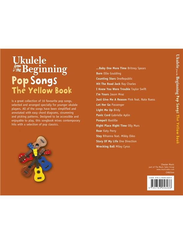 Ukulele From The Beginning Pop Songs Yellow Book Ukulele Sheet