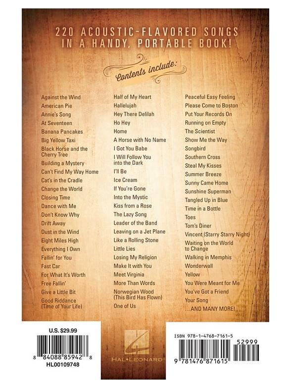 The Coffeehouse Companion 220 Songs Melody Line Lyrics Chords