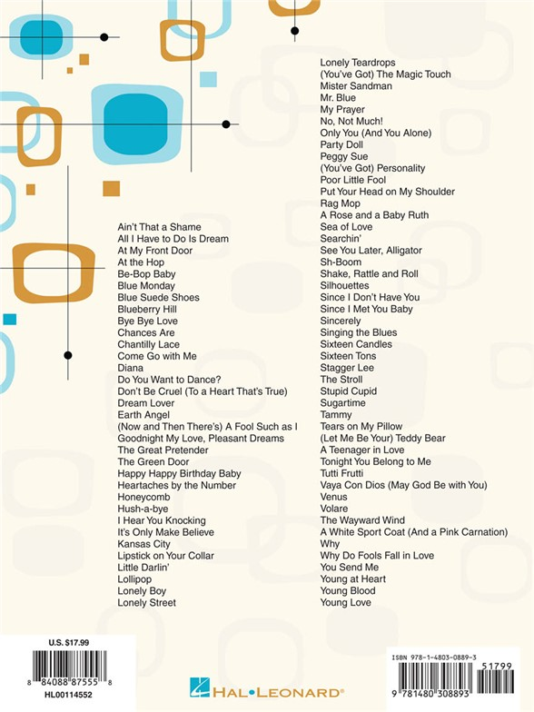 The Ukulele Decade Series The 1950s Ukulele Sheet Music Sheet