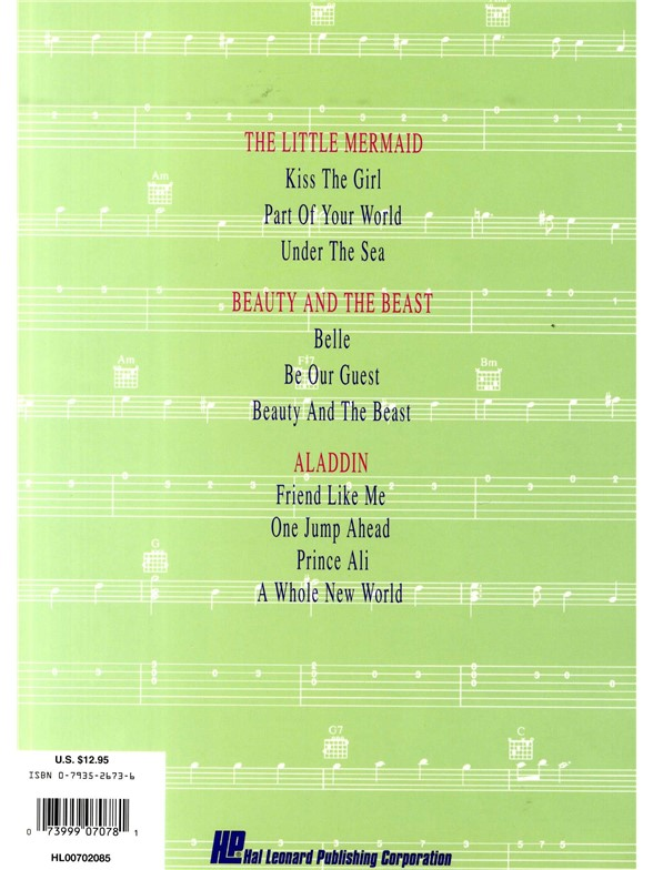Disney Movie Hits For Easy Guitar - Guitar Tab Sheet Music - Sheet ...