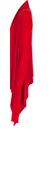 Rick Owens Red Cardigan