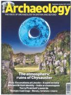 British Archaeology magazine