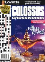 Lovatts Colossus Crosswords magazine