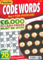 Puzzler Codewords magazine