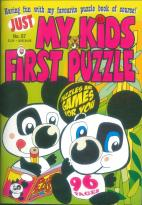 My Kids First Puzzle magazine