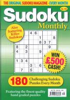 Sudoku Monthly magazine