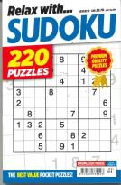 Relax With Sudoku magazine