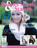 Beanies, Shawls and Scarves magazine