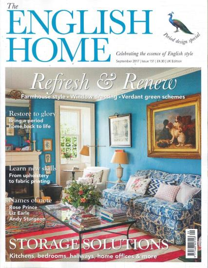 The english home magazine subscription for English house magazine
