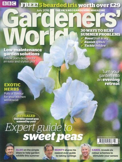 BBC Gardeners World magazine