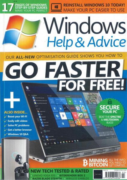 Windows Help & Advice magazine