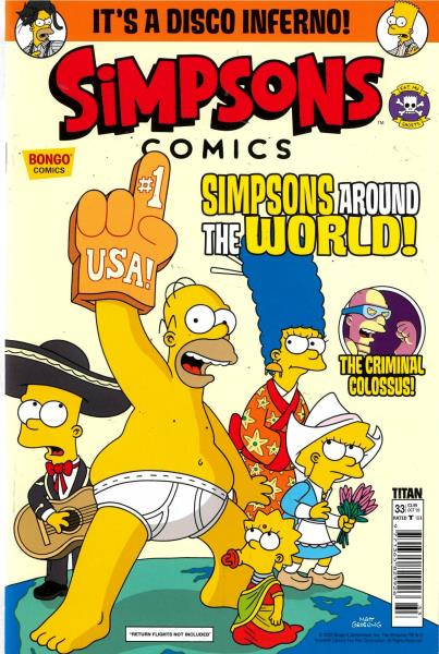 Simpsons Comics magazine