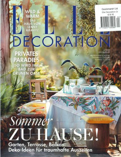 Elle Decoration German magazine