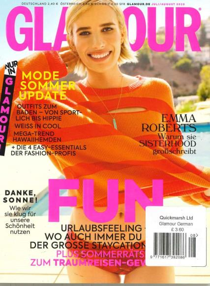 Glamour German magazine