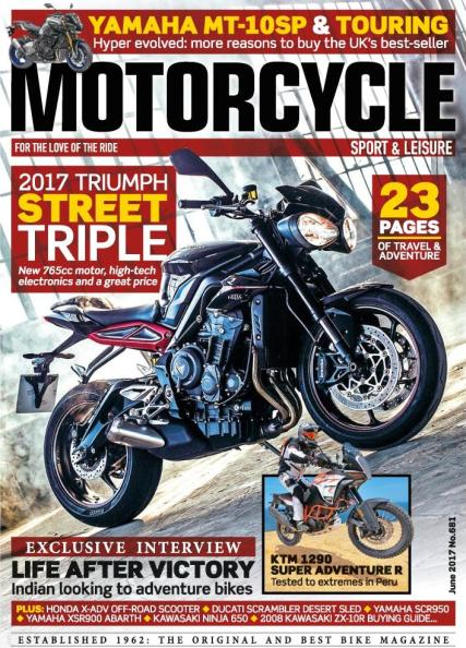 Motorcycle Sport and Leisure magazine