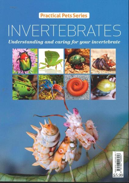 Practical Pets Series Invertebrates magazine