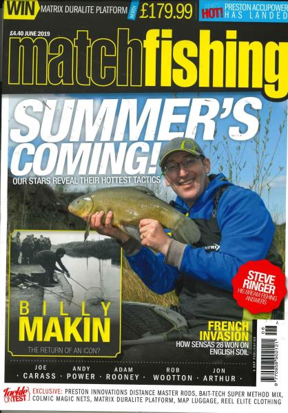 Match Fishing magazine
