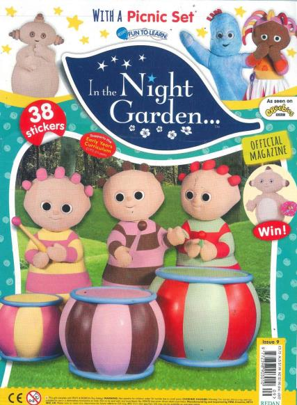 In the Night Garden magazine
