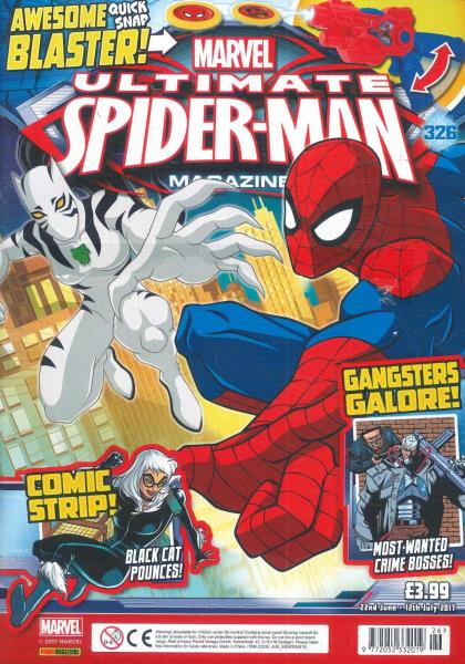 Ultimate Spiderman magazine