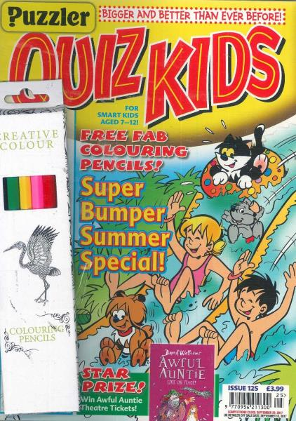 Quiz Kids magazine
