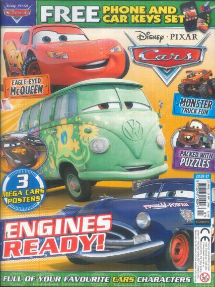 Disney Cars magazine