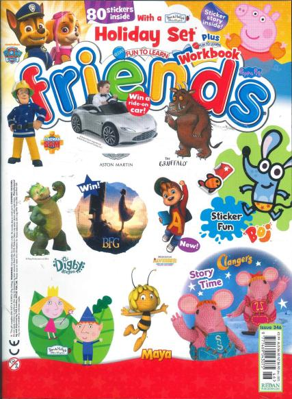 Fun To Learn - Friends magazine