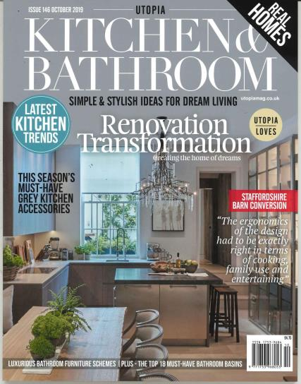 Utopia Kitchen and Bathroom magazine