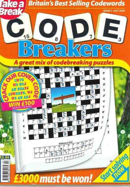 Take a Break Codebreakers magazine