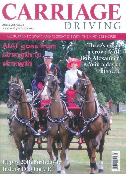 Carriage Driving magazine