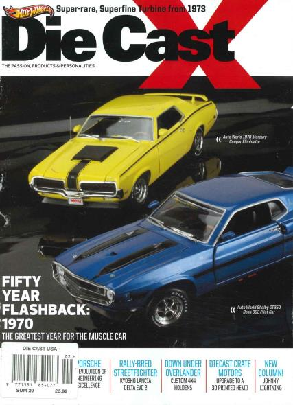 Die Cast magazine