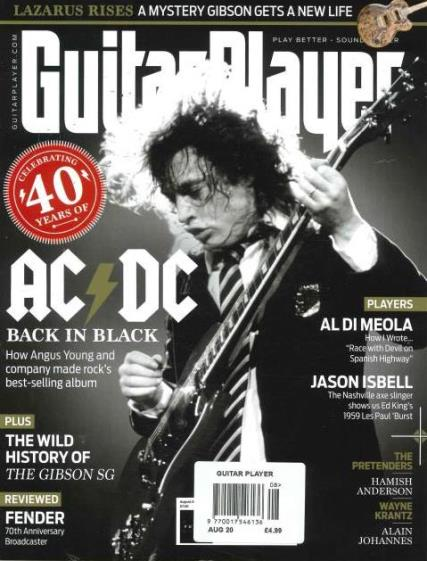 Guitar Player magazine