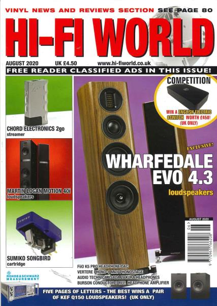 Hi-Fi World magazine