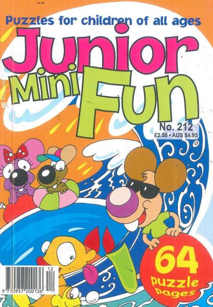 Junior Mini Fun magazine