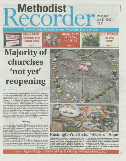 Methodist Recorder magazine
