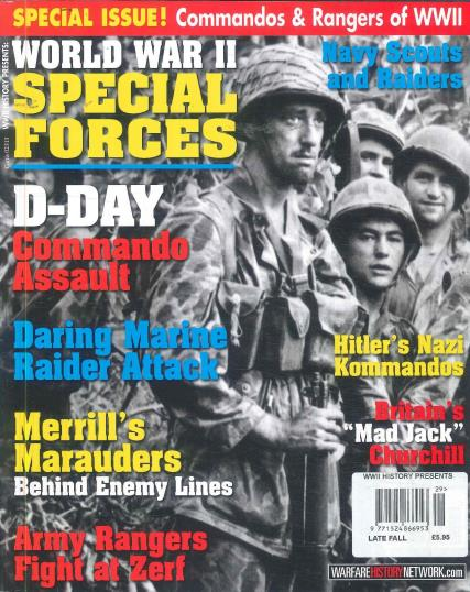 WWII History Presents magazine