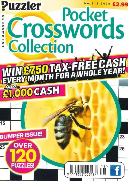 Pocket Puzzler Crosswords magazine