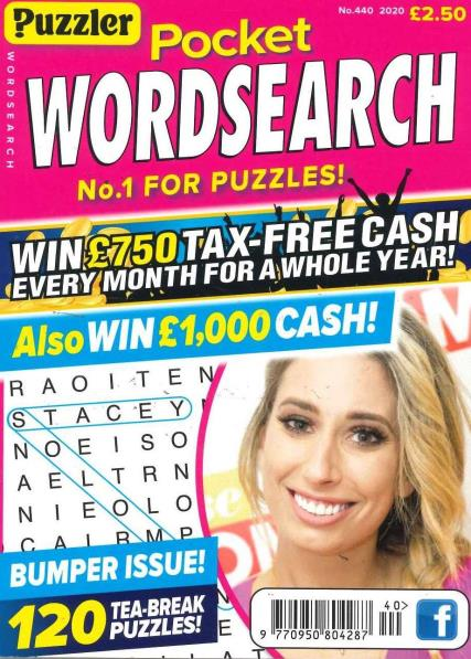 Pocket Puzzler Wordsearch magazine